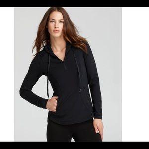Spanx Activewear Hoodie Halfzip Jacket